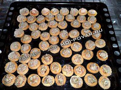 баранки с фаршем рецепт в духовке пошагово с фото