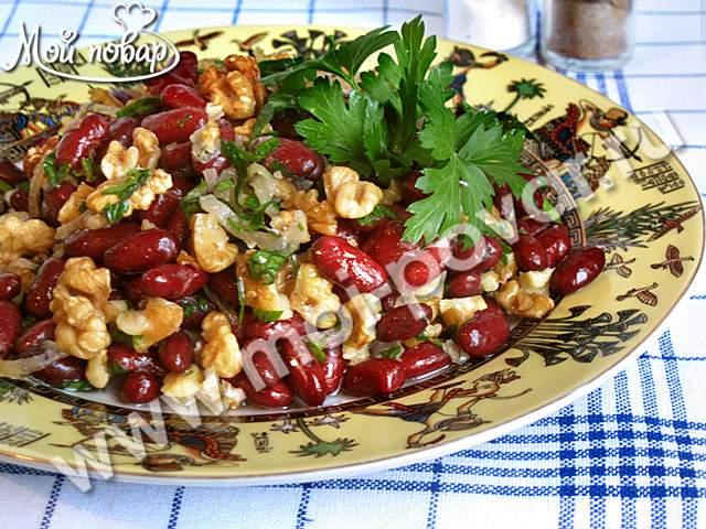 салат с поджаркой рецепт