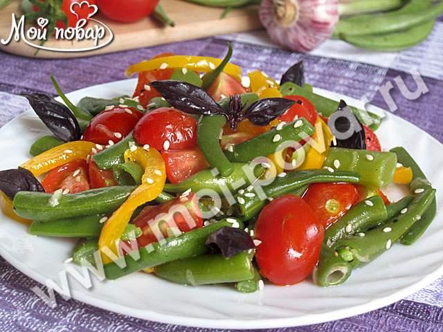 салат грация с фасолью рецепт