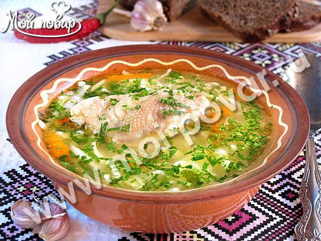Курица с лапшой домашней рецепт с фото пошагово