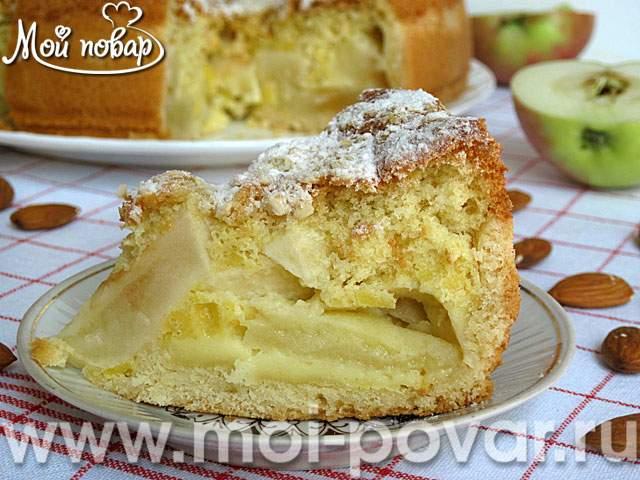 рецепт суфле из белков с яблоком