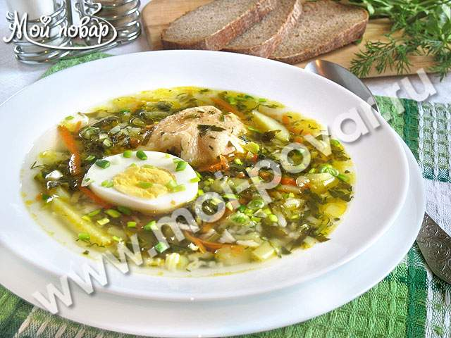 щавельный суп рецепт с перловкой