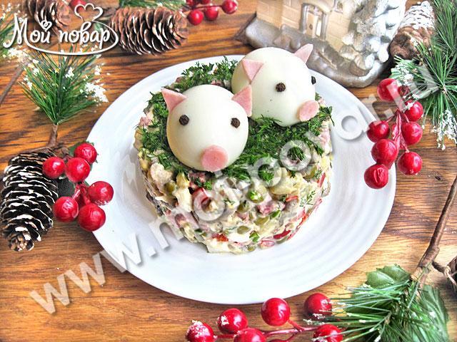 Новогодние рецепты 2019