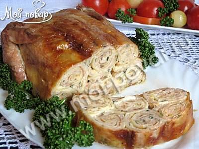 Рецепт вишнёвого пирога в духовке