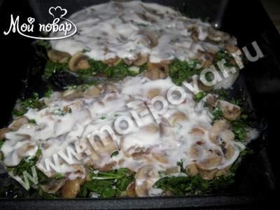 Приготовление лосося, запеченного в духовке