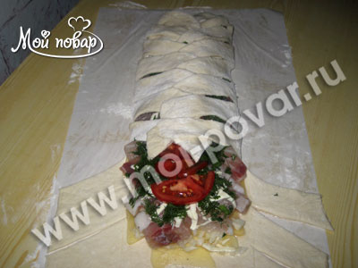 рецепт пирог с капустой