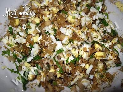 Рулет из белой рыбы – кулинарный рецепт