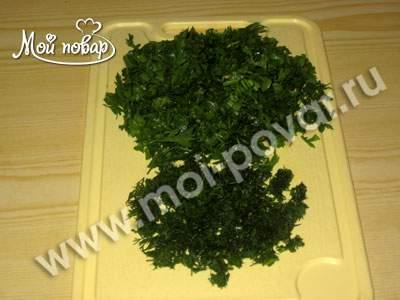Карп, запеченный с овощами
