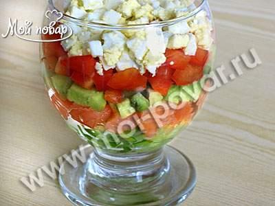 Как приготовить салат коктель