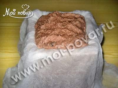 Пасха шоколадная, пошаговый рецепт с фото