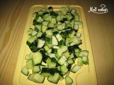 """Салат """"Греческий студент"""" или """"Радуга"""" – кулинарный рецепт"""