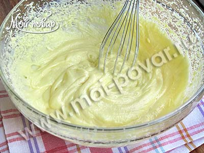 Белково-заварной крем – кулинарный рецепт